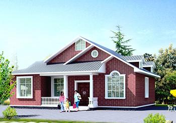 三层别墅图造价40万,城市买房首付都不够,不如在农村自建一栋别墅享受一生