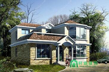 12.0x11.4m二层农村房屋设计图_农村自建房图纸_二层房屋图纸