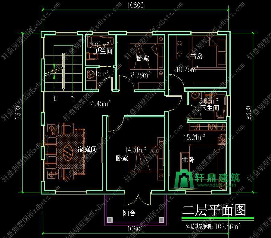 对别墅设计图纸结构安全负终身责任制,业主朋友可以放心购买,安心建房