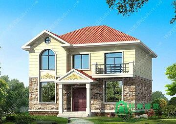 10x9米造价15万左右两层经典户型农村房屋自建施工图纸带效果图