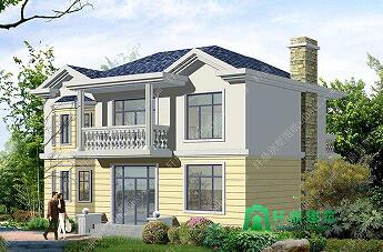 11x8.5米造价15万左右农村二层小别墅_农村房屋设计图_二层建房设计图_农村房子设计图