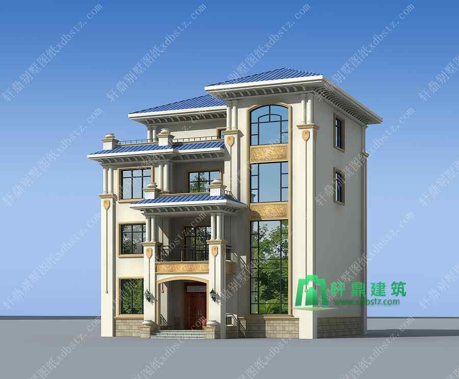 13x13米农村四层楼房新款设计图_家在深圳