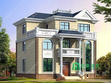 农村小别墅设计图 三层别墅设计别墅 设计图纸及效果图大全 三层别墅设计