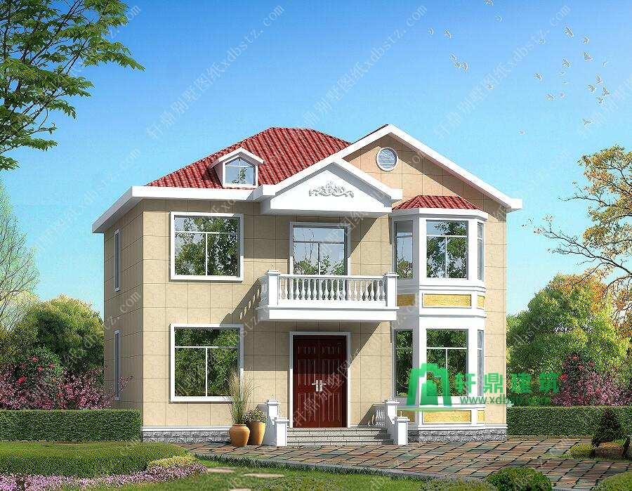 二层别墅设计图纸中式风格