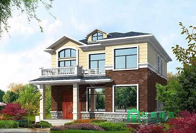 10*12二层小别墅设计图
