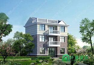 10x9米三层每层独立住宅_每层独立户型自建房