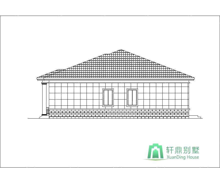 1层农村自建房屋设计图