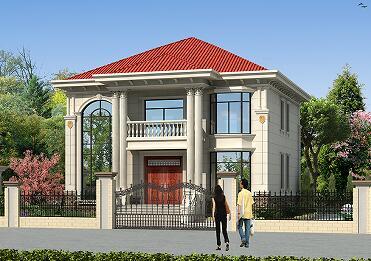 占地160㎡二层复式别墅设计图,小户型复式别墅,布局合理