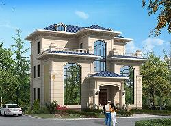 占地145㎡三层复式别墅设计图,室内通风采光良好