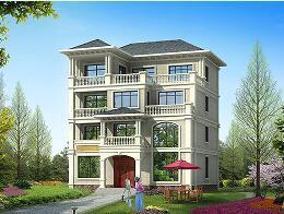 四层自建别墅设计图,11.9m*12.9m,含全套施工图纸