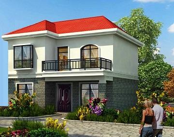 超高人气的二层自建小别墅,占地84.24㎡,精致温馨的小家园