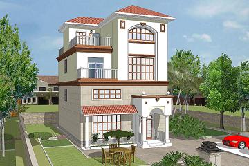 8.0x11.3m三层局部四层复式别墅全套设计图_格调精致小别墅_建房设计图