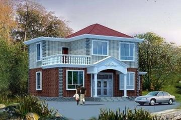 占地160平方米二层别墅设计图纸,含全套施工图,人气超高