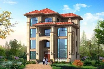 欧式四层复式高端设计图,别墅大气,带有大2018房地产标准化v复式图片