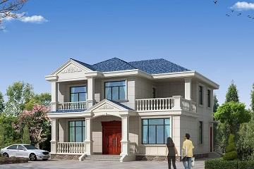 经济实用型清新小别墅设计图,造价25万左右,自建房屋首选