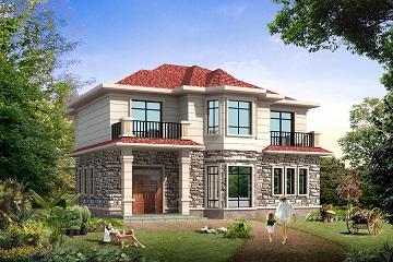 人气超高的二层自建小别墅设计图,大众化设计