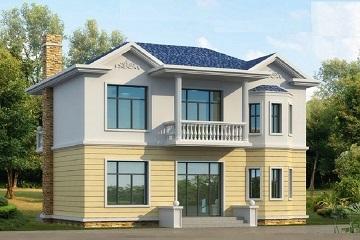 造价18万左右的精致二层自建小别墅设计图,布局完善经济实用