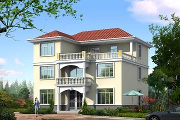 简单大方的三层自建小别墅设计图,超受欢迎的户型设计