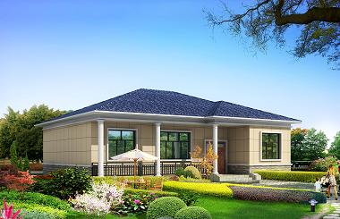 14x12米一层农村房子设计图,自建推荐户型