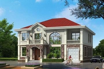 精品二层自建房屋设计图,美观实用的田园温馨小别墅