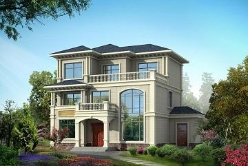 农村三层复式自建房屋设计图,带有土灶,非常实用