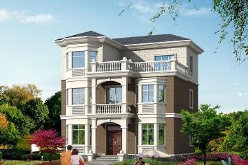 9.8m*9.5m小户型三层自建房屋设计图,经济实用