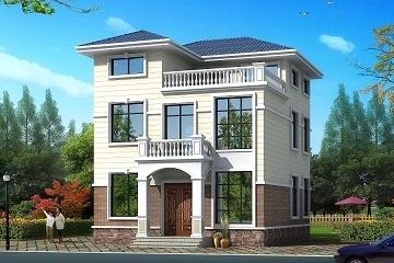 两层半自建房屋设计图,小户型,经济实用