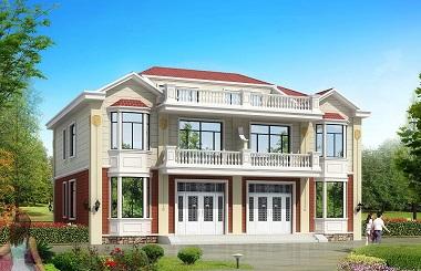 17*15精致双拼,一梯多户,两层自建别墅,带屋顶露台