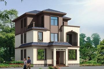 占地125平新中式三层别墅设计图,含全套完善施工图纸