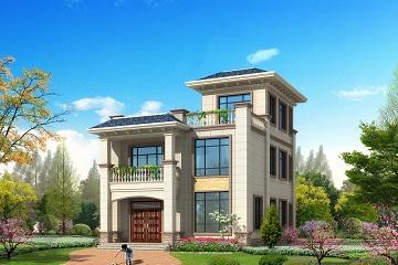 9.5*13m新中式小户型自建别墅设计图,布局合理,经济实用