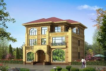 高端欧式三层复式别墅施工图,棱角分明,美观精致