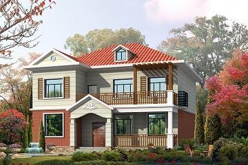 12*14m二层经典自建房屋设计图,造价合理经济实用