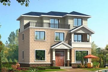 农村三层自建别墅设计图,经济实用