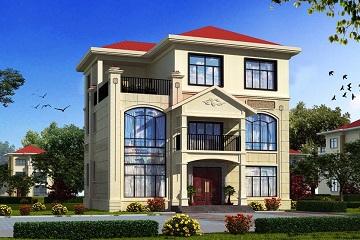 精致欧式三层自建别墅设计图,含全套完善施工图纸