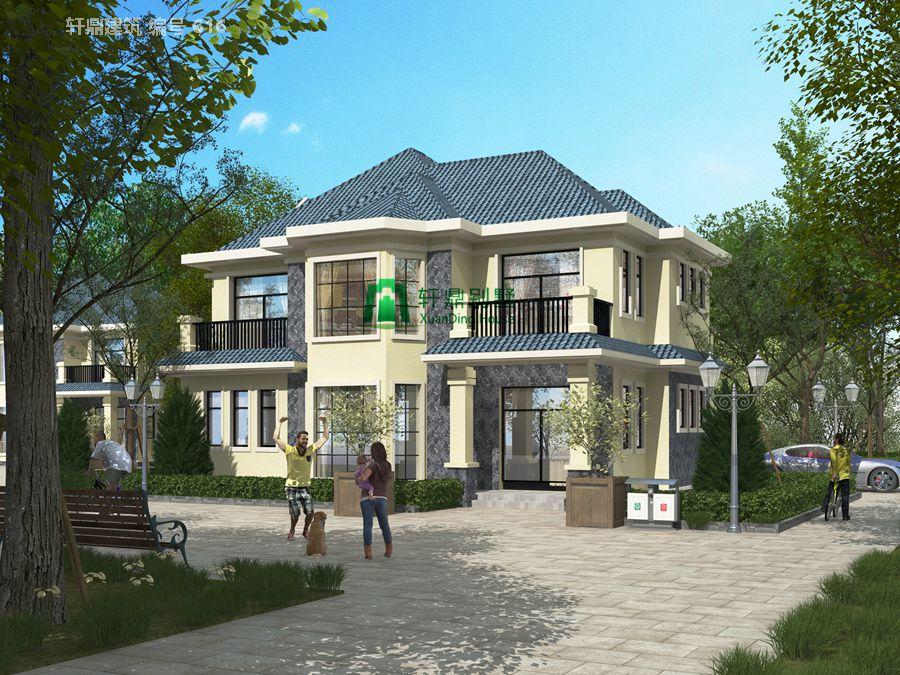 现代精品二层自建别墅设计图1.jpg