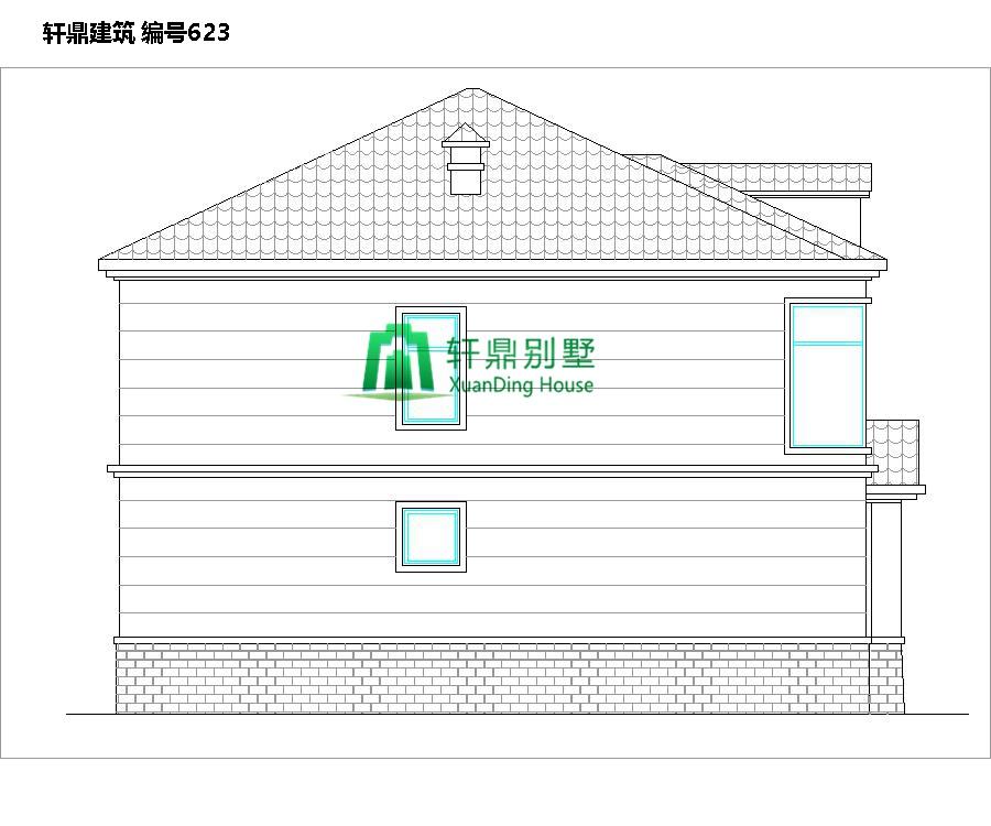 二层田园风格自建别墅设计施工图3.jpg
