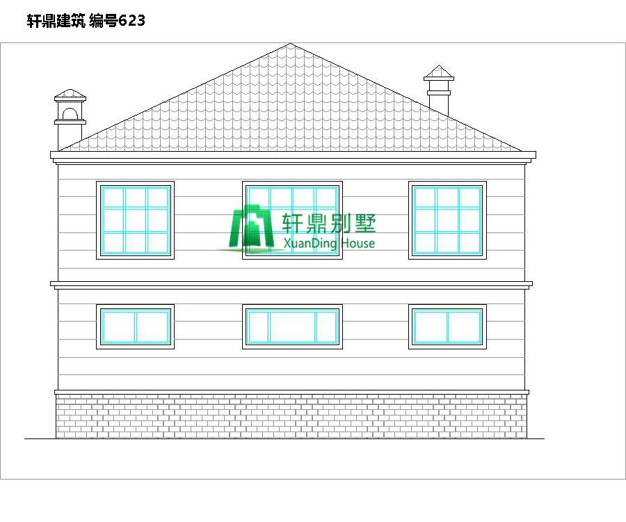 二层田园风格自建别墅设计施工图2.jpg
