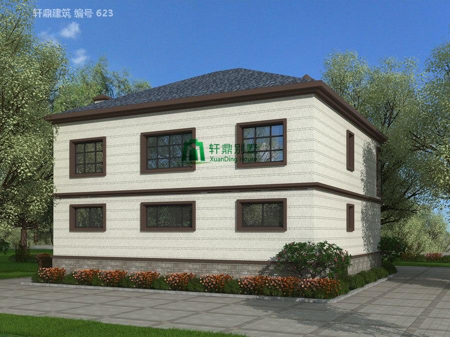 二层田园风格自建别墅设计图施工图3.jpg
