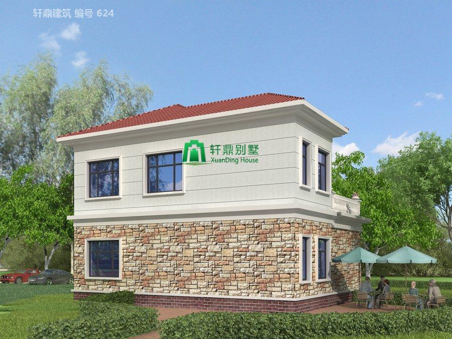 1新农村时尚二层小别墅设计图5.jpg