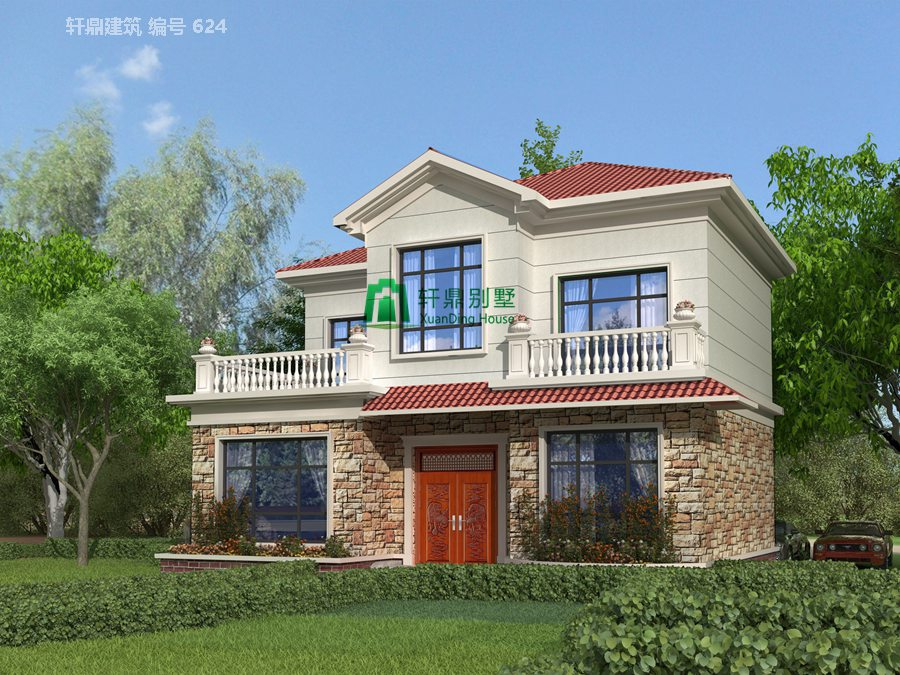 1新农村时尚二层小别墅设计图4.jpg