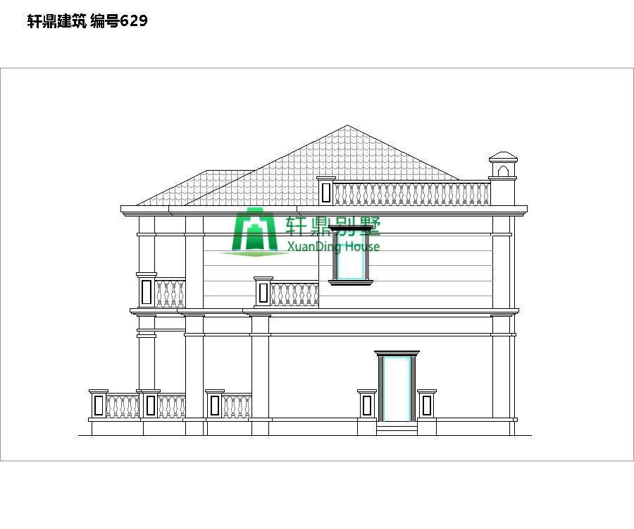 中式二层自建别墅设计图4.jpg