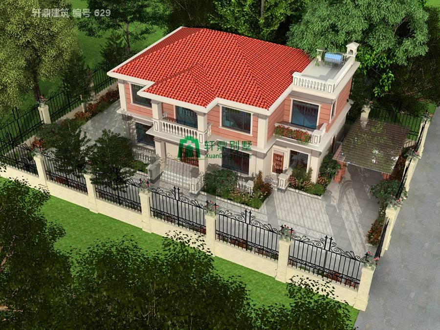中式二层自建别墅设计图11.jpg