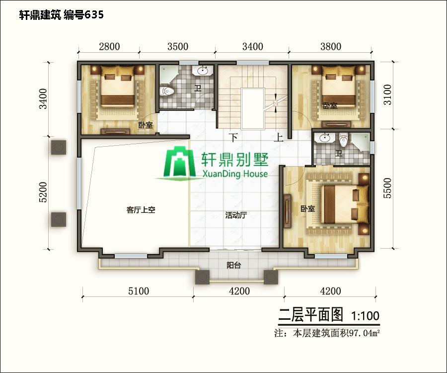 二层带院别墅设计图6.jpg