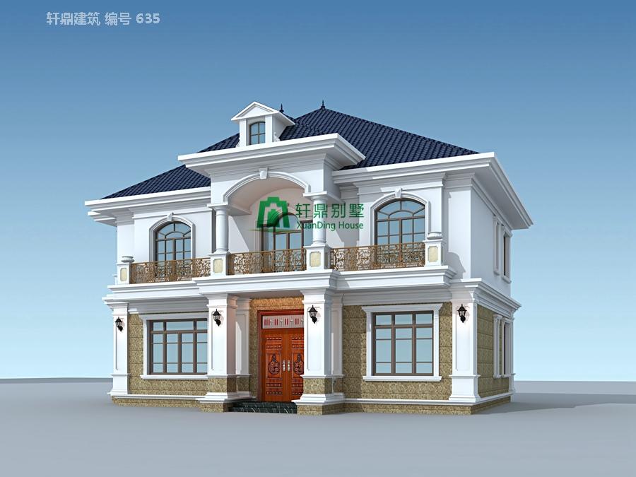 二层带院别墅设计图12.jpg