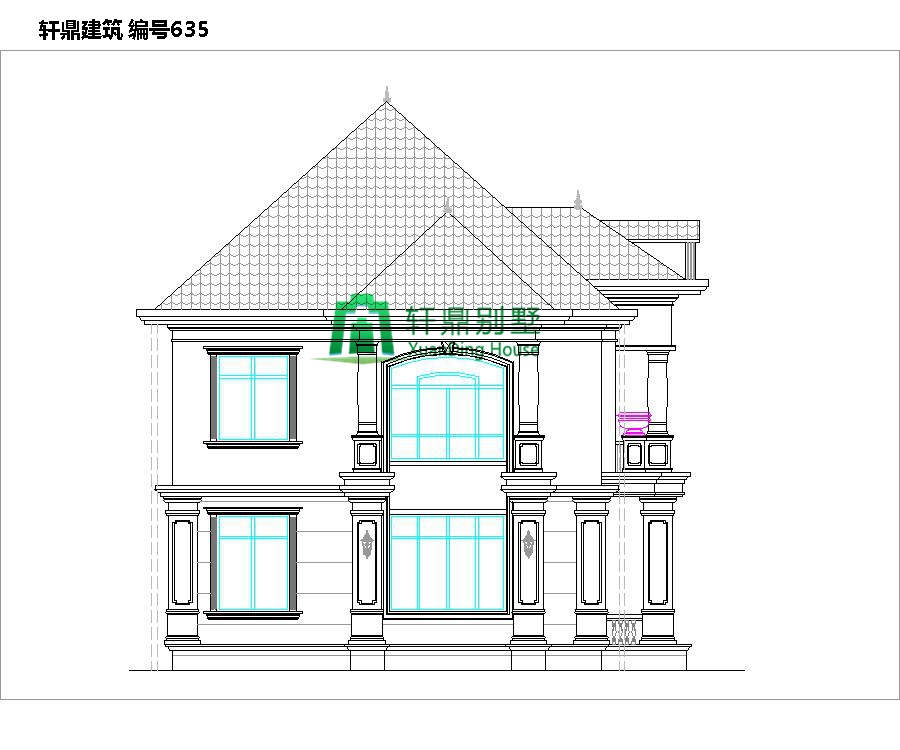 二层带院别墅设计图3.jpg