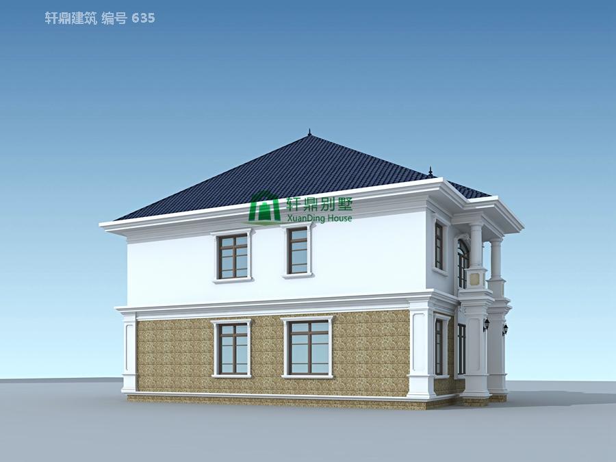 二层带院别墅设计图11.jpg