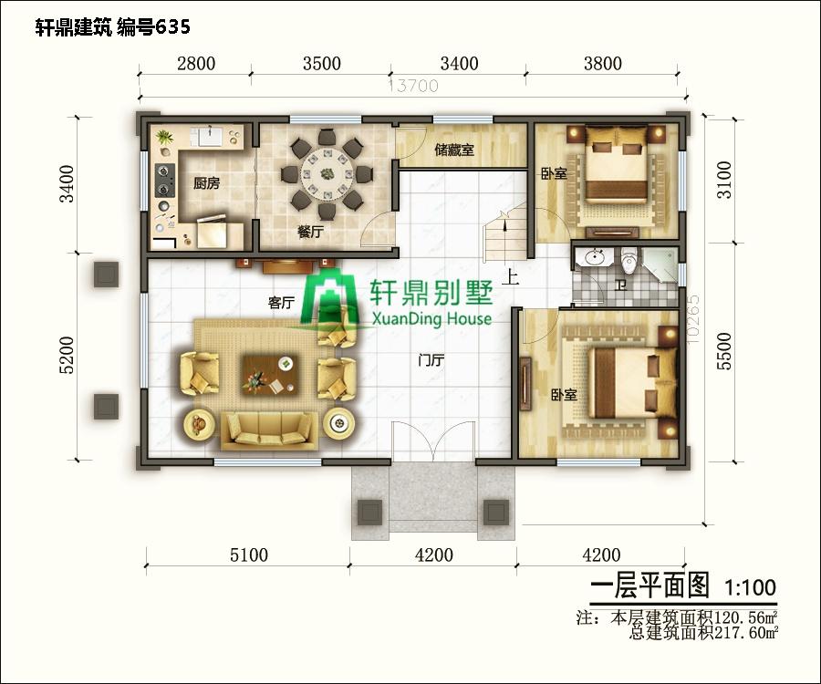 二层带院别墅设计图5.jpg