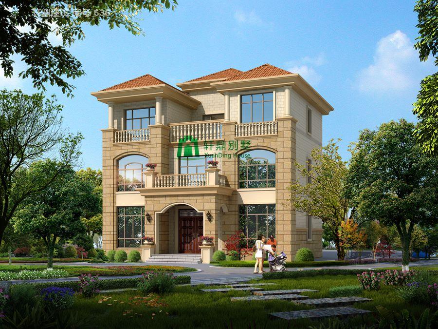 三层欧式自建别墅设计图14.jpg