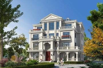 高端四层自建复式别墅设计图,带有室内车库