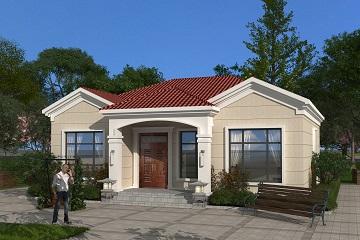 经典一层自建房屋设计施工全套图纸,经济实用型自建房